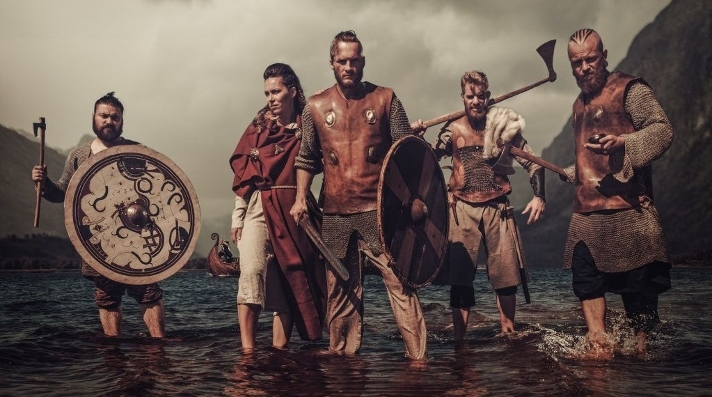 Viking Warriors With A Taste For Mead