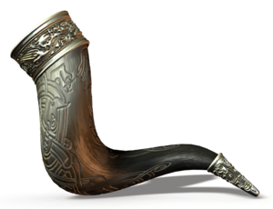 A Sweet Viking Drinking Horn